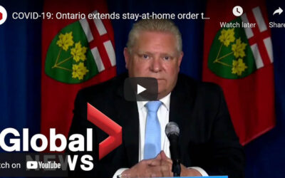 Doug Ford's Recent Announcement (May 13, 2021)